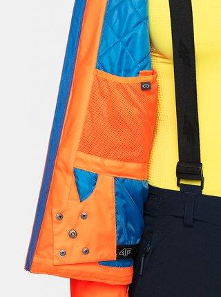 Pánská lyžařská bunda KUMN009 KUMN009  Oranžová
