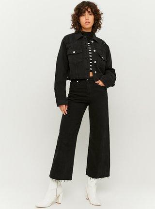 Černá krátká džínová bunda TALLY WEiJL