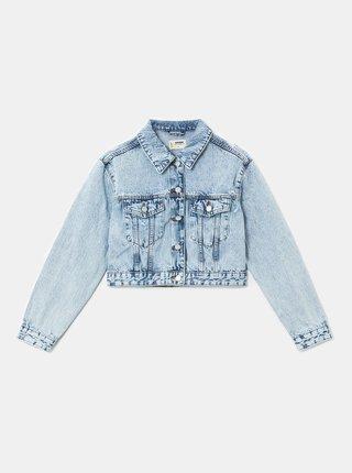 Světle modrá krátká džínová bunda TALLY WEiJL