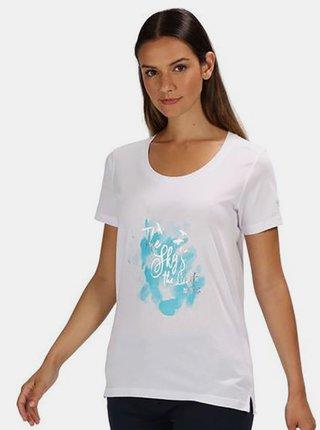 Dámské triko REGATTA RWT171 Filandra III  Bílá