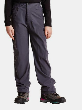 Dětské outdoorové kalhoty DKJ300 DARE2B Proficiency  Šedá