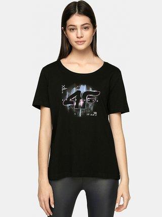 Dámské tričko 4F TSD213  Černá