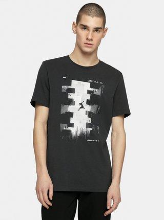 Pánské tričko 4F TSM212 Šedá