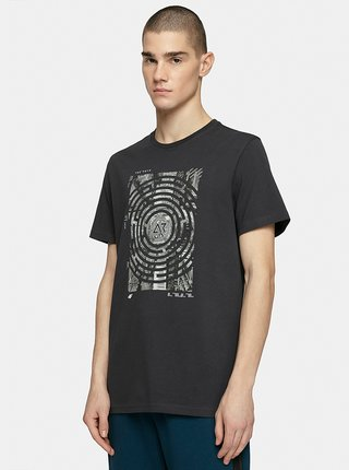 Pánské tričko 4F TSM210 Šedá