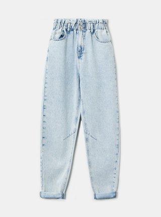 Světle modré zkrácené mom džíny TALLY WEiJL