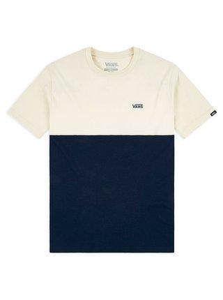 Vans COLORBLOCK DRESS BLUES/SEED PEARL pánské triko s krátkým rukávem - modrá