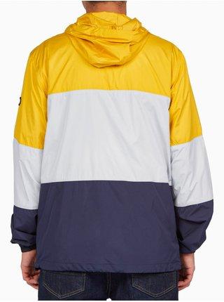 Dc DAGDUP BLOCK GOLDEN ROD podzimní bunda pro muže - modrá