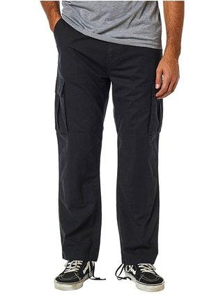 Fox Recon Stretch Cargo black plátěné kalhoty pánské - černá