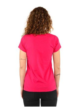 Horsefeathers WAR PAINT rose red dámské triko s krátkým rukávem - růžová