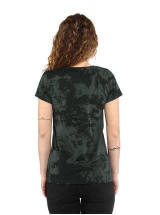Horsefeathers TALLULAH gray tie dye dámské triko s krátkým rukávem