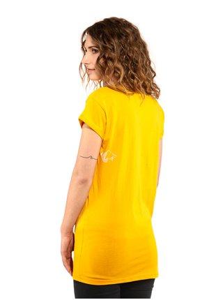 Horsefeathers JADA CITRUS dámské triko s krátkým rukávem - žlutá