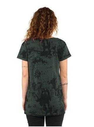 Horsefeathers CHELSEA gray tie dye dámské triko s krátkým rukávem