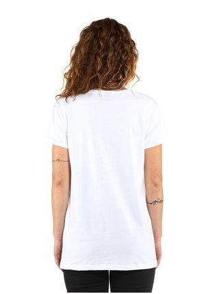 Horsefeathers COLEEN white dámské triko s krátkým rukávem - bílá