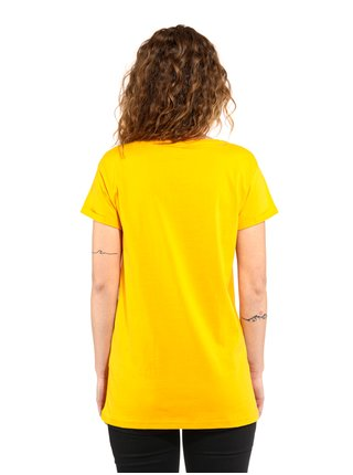 Horsefeathers COLEEN CITRUS dámské triko s krátkým rukávem - žlutá