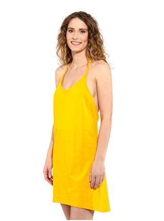 Horsefeathers VIOLA CITRUS krátké letní šaty - žlutá