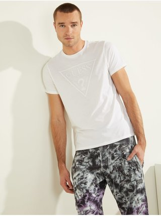 Pánské tričko U1GA06 J1311 - TWHT bílá - Guess bílá