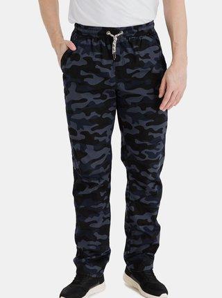 Tmavomodré pánske maskáčové nohavice SAM 73