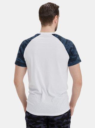 Modro-bílé pánské tričko SAM 73