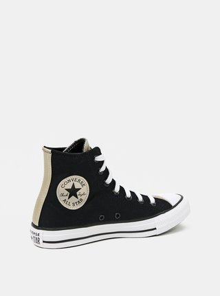 Converse černé kotníkové tenisky Chuck Taylor All Star