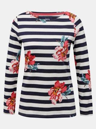 Bílo-modré dámské pruhované tričko Tom Joule