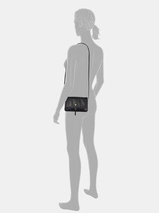 Čierna crossbody kabelka Tom Tailor Luna