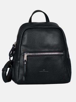 Čierny dámsky batoh Tom Tailor