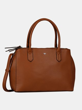 Hnedá veľká kabelka Tom Tailor