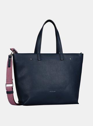Tmavomodrá veľká kabelka Tom Tailor