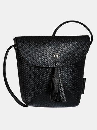 Černá prošívaná crossbody kabelka Tom Tailor Denim