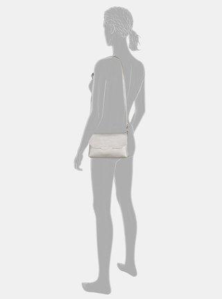 Crossbody kabelka ve striebornej farbe Tom Tailor Denim Kenza