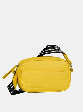 Žlutá crossbody kabelka Tom Tailor Denim