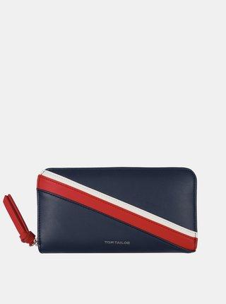 Tmavomodrá peňaženka Tom Tailor
