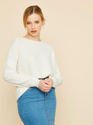 Bílý dámský oversize svetr ZOOT Morgan