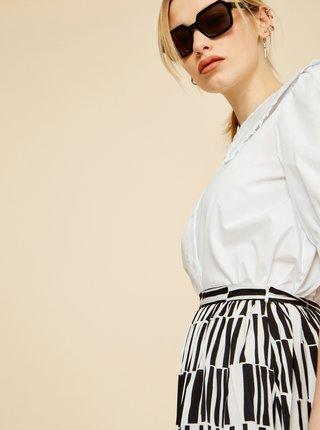 Černo-bílá vzorovaná sukně ZOOT Sylvie