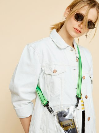 Bílo-žluté dámské pruhované tričko ZOOT Baseline Amina