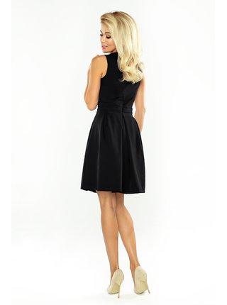 Dámské elegantní šaty 160-1 - Numoco černá