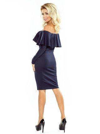Dámské šaty 156-1 - Numoco tmavě modrá