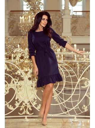 Dámské šaty 193-3 - Numoco tmavě modrá