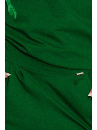 Dámské šaty 189-3 - Numoco tmavě zelená