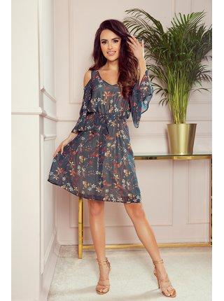 Dámské šaty 292-2 Marina - NUMOCO vícebarevná