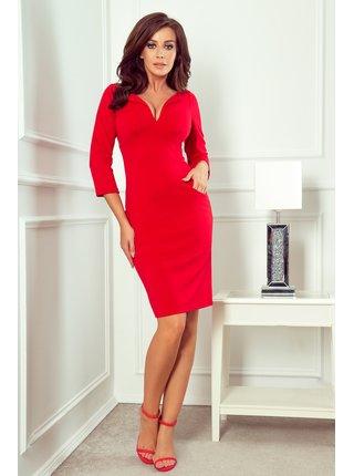 Dámské šaty 269-1 - NUMOCO červená