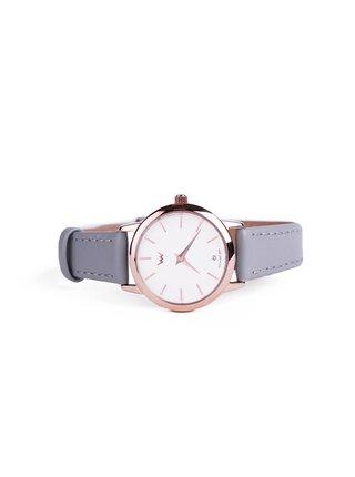 Vuch šedé hodinky Ozzy
