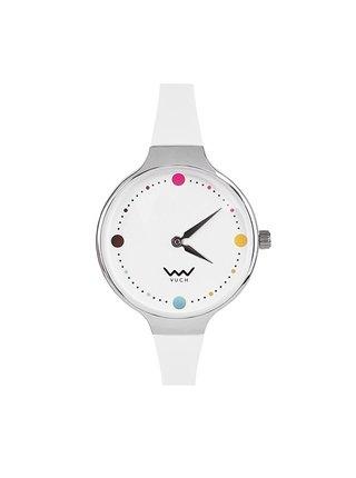Vuch bílé hodinky Humorous