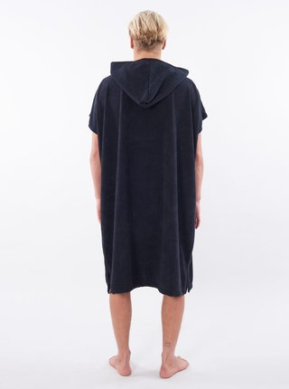 Černá dlouhá mikina/osuška s kapucí Rip Curl