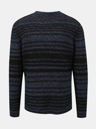 Modro-černý pruhovaný svetr ONLY & SONS Callen