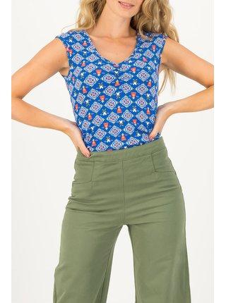 Blutsgeschwister modré tričko Summer Sun Windmolen Land