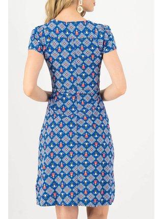 Blutsgeschwister modré šaty Sally Tomato Windmolen Land