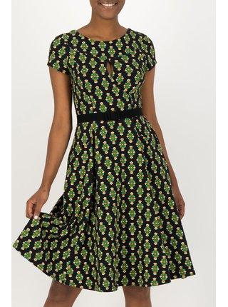 Blutsgeschwister barevné šaty Shine On Godess Chic Antiek
