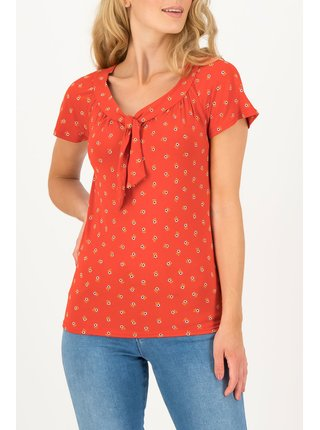 Blutsgeschwister červené tričko Carmelita Bloemen Meisje
