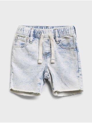 Modré klučičí dětské kraťasy denim shirts